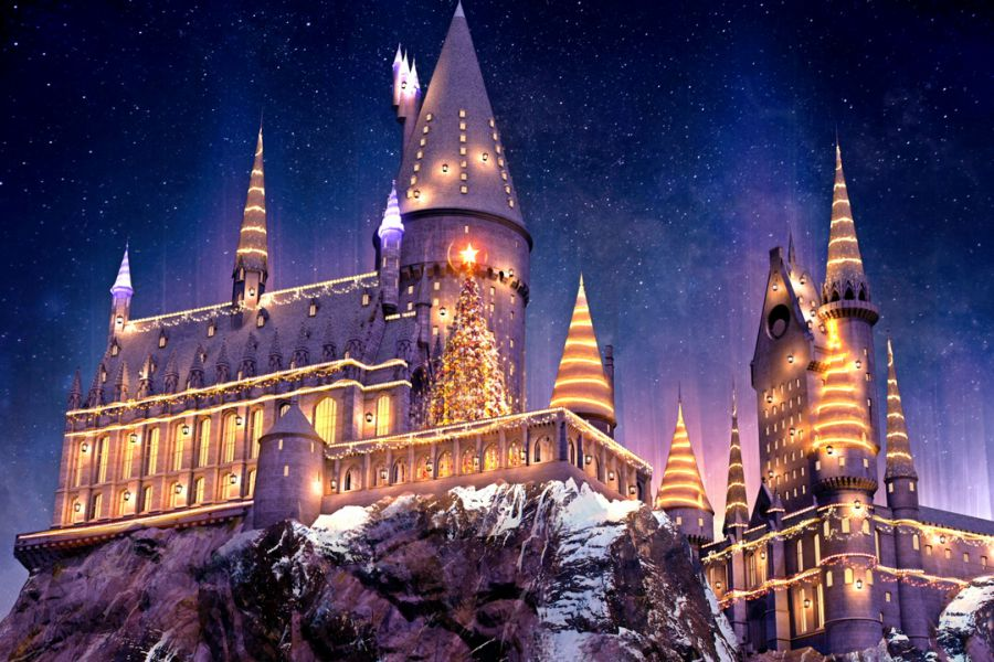 Harry Potter inspira festa de Natal do Universal Orlando
