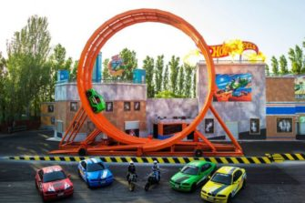 Hot Wheels ganha área temática no Beto Carrero World