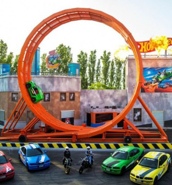 Hot Wheels ganha aérea temática no Beto Carrero World