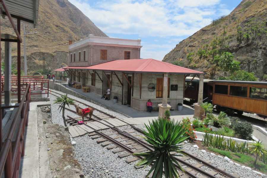 Como fazer o passeio de trem Nariz del Diablo no Equador
